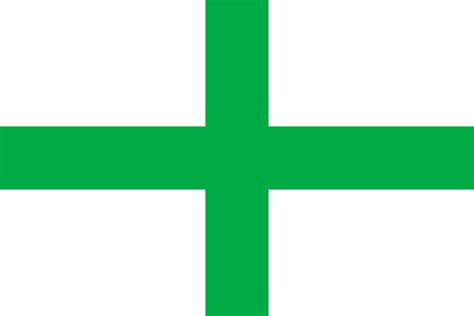 flags of the world with crosses file green cross flag of florida svg wikipedia