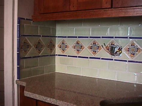 mexican tiles for kitchen backsplash tile backsplash for my future home
