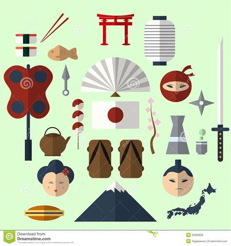 flat icon design japan japanese flat design icon stock vector image 50300829