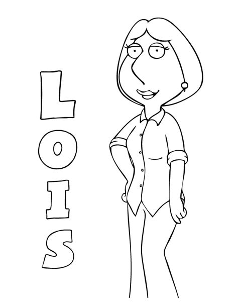 family guy coloring pages games family guy coloring pages lois coloringstar