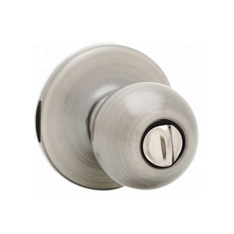 bed knobs kwikset polo satin nickel bed bath knob 300p 15 6al rcs the home depot