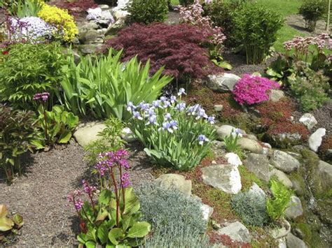 large rocks for gardens 32 backyard rock garden ideas