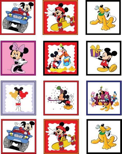 printable stickers disney free mickey mouse gang printable stickers parker s