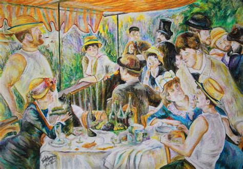 luncheon of the boating party download luncheon of the boating party by sajurohiko on deviantart