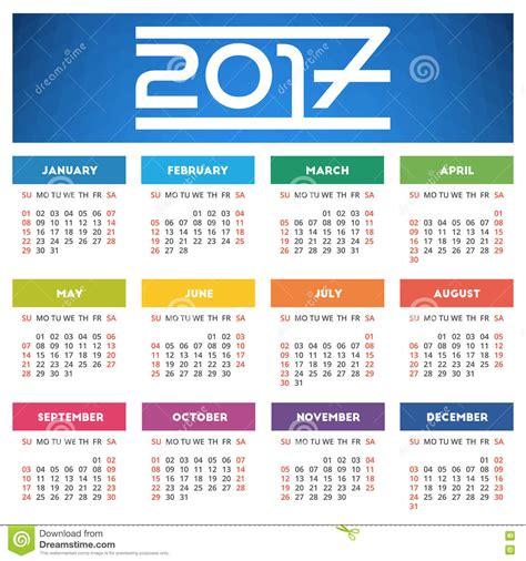 Calendario De Azul Projeto Do Calend 225 2017 Fundo Geom 233 Trico Azul