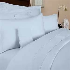 Duvet Sheet 4pc Microfiber Bedding Sheet Set Light For King Blue