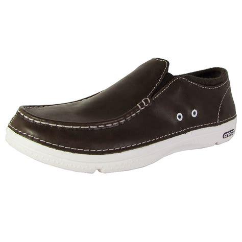 crocs mens loafers crocs mens thompson ii 5 low moc toe loafer shoes ebay