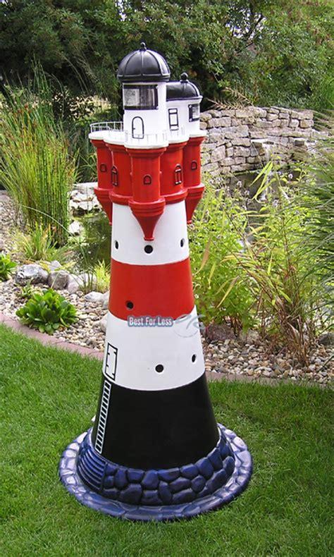 garten leuchtturm leuchtturm roter sand garten maritim figur statue skulptur