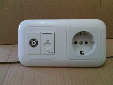 Stop Kontak Panasonic Surabaya jual panasonic stop kontak arde stop lan stop tv
