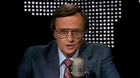 To Be Interviewed By Larry King by 35 Years Of Cnn