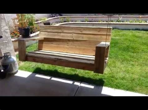 pallet bench swing 24 diy plans to build a bench from pallets guide patterns