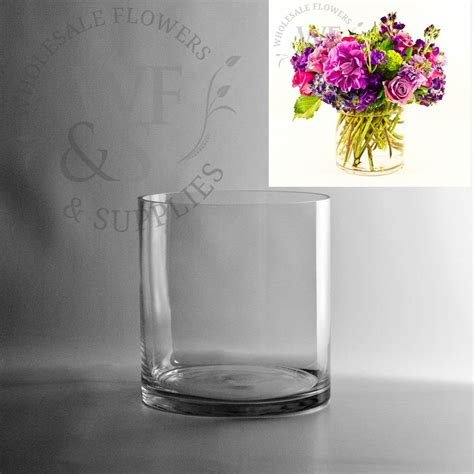Floral Vases Cheap by 7 5 X 7 Glass Cylinder Vase Wholesale Flowers And Supplies