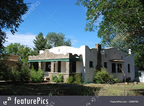 southwestern home residential architecture southwestern home stock image
