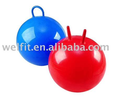 bouncy with handle pvc bounce balls hopper with handle view bouncing