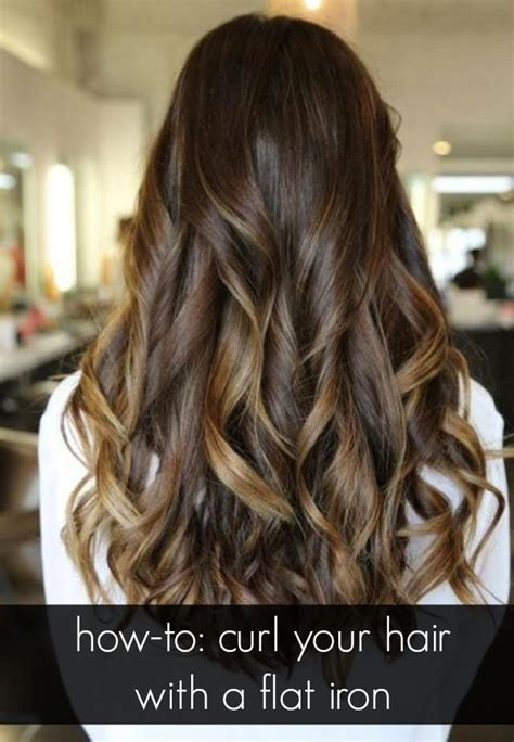 how to curl your hair with flat iron review catok amara learn how to get tousled curls with a straightening iron