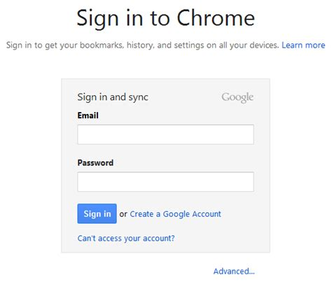 sign into chrome on android chrome sync configure once work everywhere techrepublic