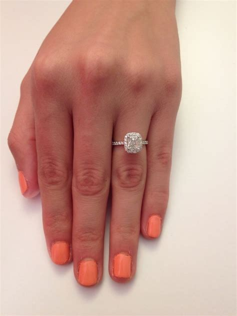 Best 25  Solitaire cushion cut ideas on Pinterest   3