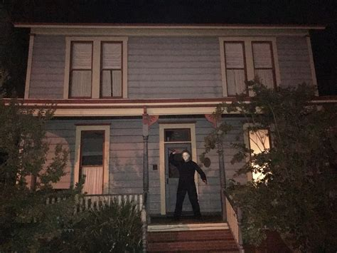 the myers house haddonfield then and now michael myers takes us back to see some of the iconic spots from
