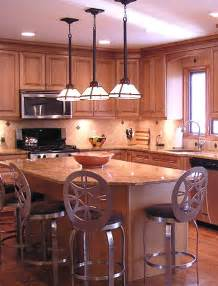 Light Fixtures Over Kitchen Island kitchen island lighting idea three pendant light fixtures over the