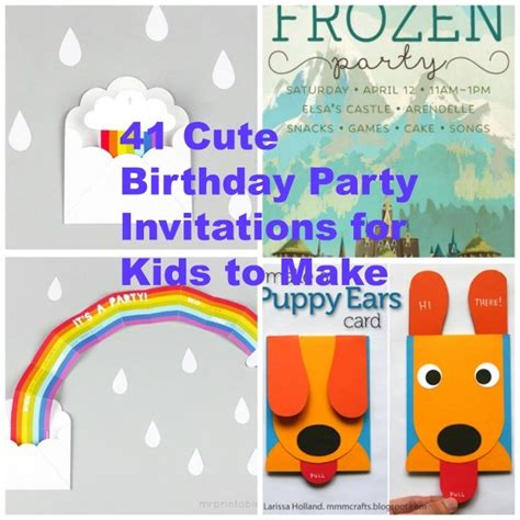 printable birthday cards diy 41 printable birthday party cards invitations for kids