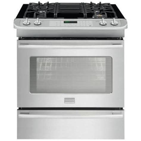 frigidaire professional 4 6 cu ft slide in gas range