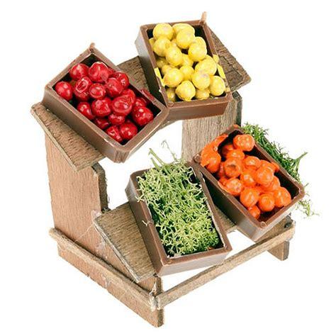 banchetti di natale frutta in miniatura per presepe fai da te banchetto
