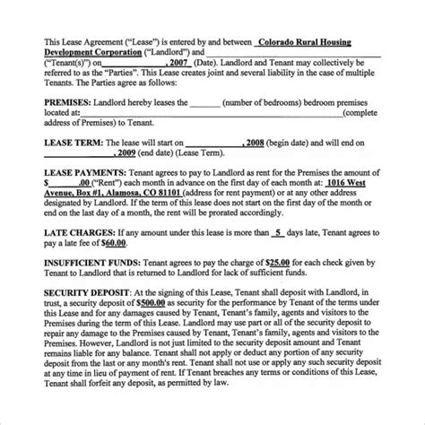 real estate option agreement template 9 lease purchase agreements free sle exle format