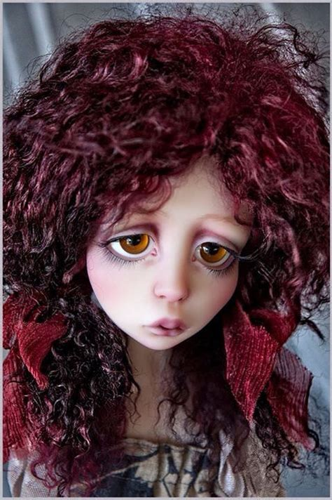 customize your own jointed doll ooak lou by nefer customized by liz wizworx