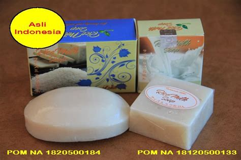 jual harga sabun beras asli indonesia rice milk soap