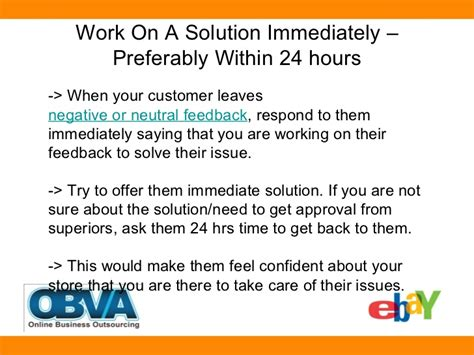 ebay feedback revision little known smart ways to revise negative neutral