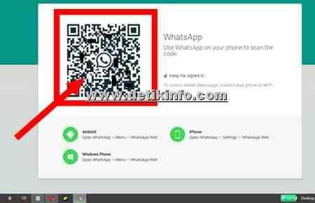 melihat kode bar  qr code whatsapp detik info