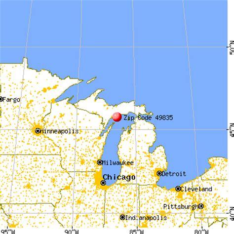 Garden City Mi Zip Code by 49835 Zip Code Garden Michigan Profile Homes