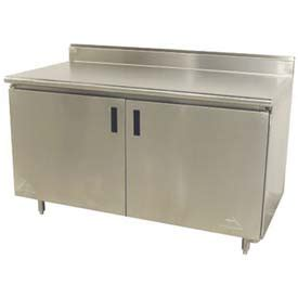 stainless steel work table enclosed base cabinet stainless steel work benches stainless steel enclosed