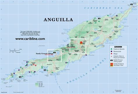 anguilla map october 15 1997 anguilla local news