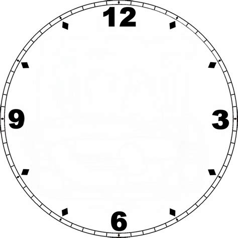 clock templates clock template need inch template wrapcandy
