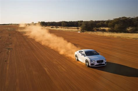 Bentley Au The 2016 Bentley Continental Gt Speed Reach 206 Mph