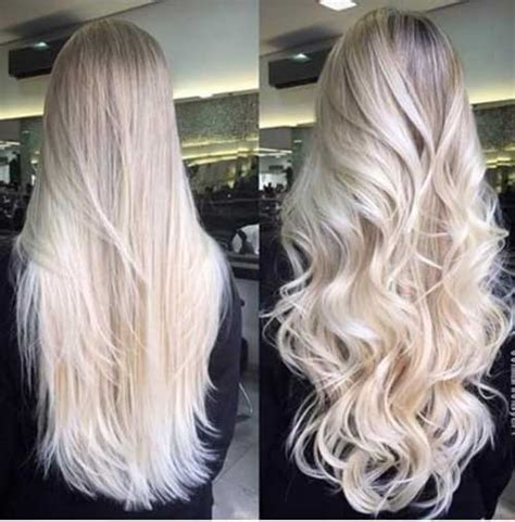 super long platinum blonde ombre hair 30 good long blonde haircuts long hairstyles 2016 2017