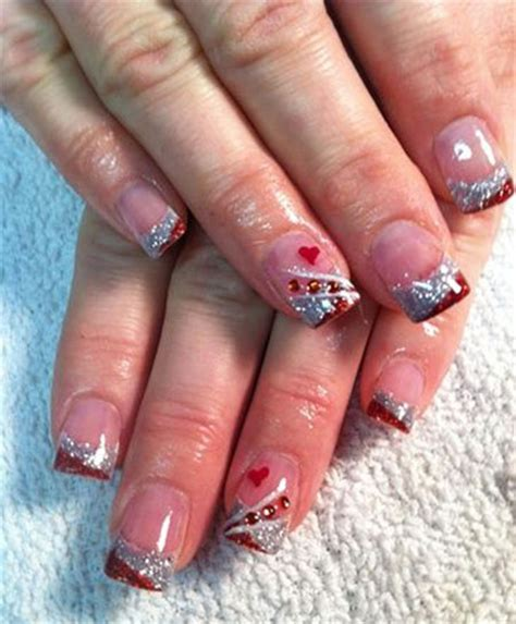 acrylic nails for valentines 12 s day acrylic nail designs ideas 2016