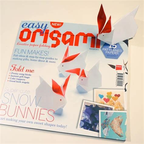 Origami Magazine - easy origami a new and lovely origami magazine
