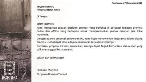 Surat Pengantar Kerjasama Sponsorship by Contoh Kerjasama Keren Tinggal Edit
