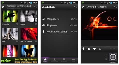 zedge app for android free ringtones for android 2016 android crush