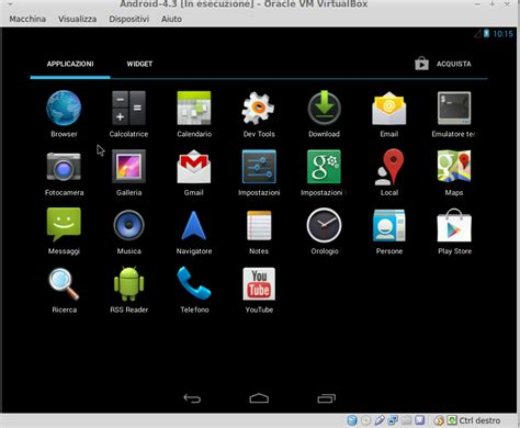 virtualbox for android installiamo android in virtualbox mamma usa linux