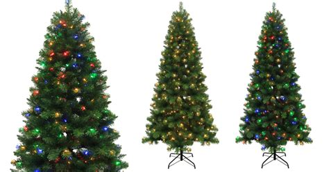 walgreens artificial christmas tree lowe s 7 5 ft alpine artificial tree w color changing lights only 69