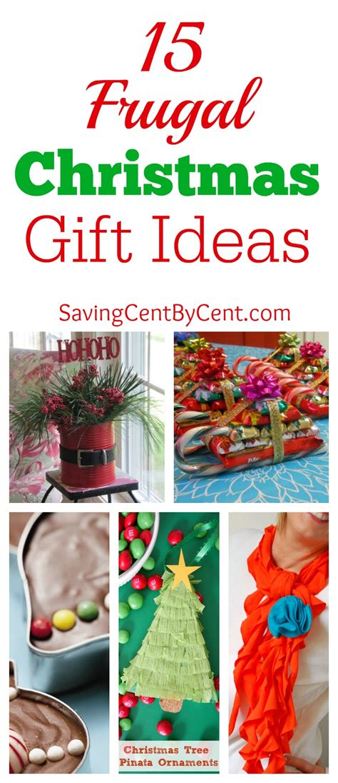 15 frugal christmas gift ideas saving cent by cent