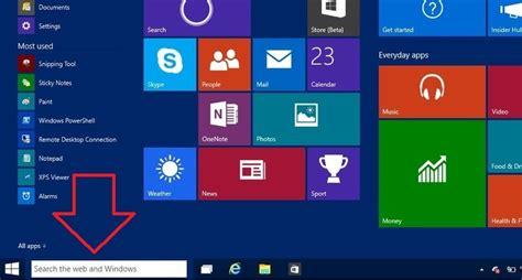 barra de herramientas superior windows 7 como activar la caja de b 250 squeda de windows 10 en la barra