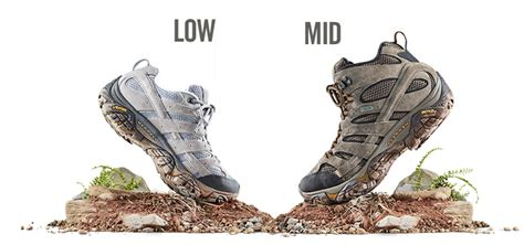 mid cut vs low cut hiking shoes merrell australia