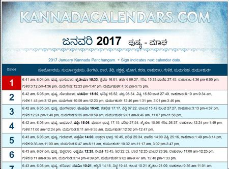 2016 kannada calendars pdf downloads durmukhi nama