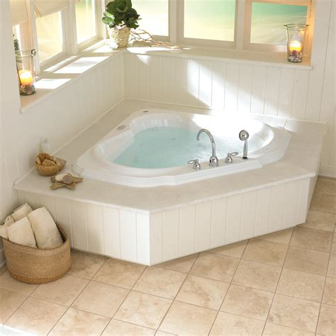 Bathroom Tub Tile Ideas Home Decor Bath Amp Bed Small White Jacuzzi Bathtubs Design