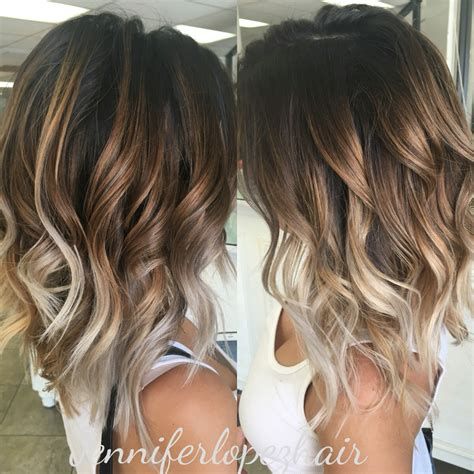 two tone color ash balayage two toned hair my work hair