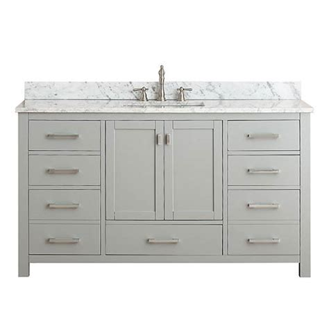 60 bathroom vanity cabinet only